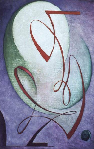 Peinture de Rudhyar : Antyphony