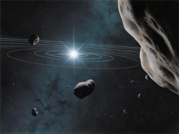 Astéroïdes - Crédit photo Ciel et Espace