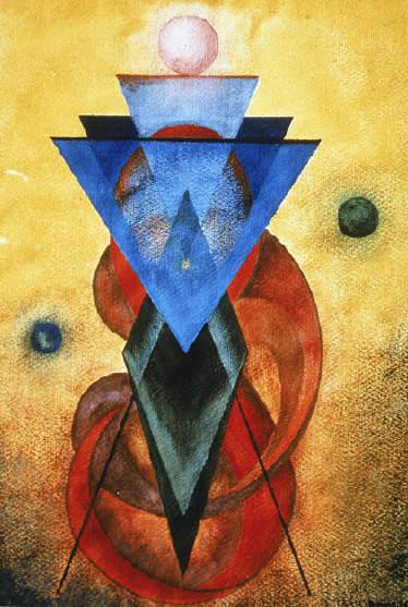 Peinture de Rudhyar : creativeman