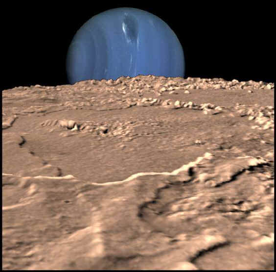 Lever de Neptune